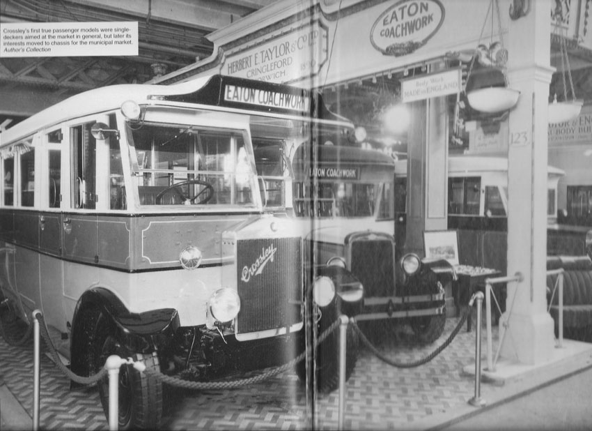 The photo is taken out of a book, 'British Buses before 1945